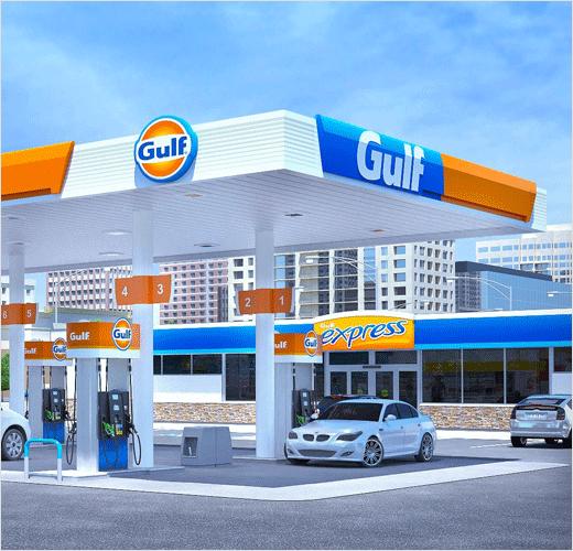 logo资讯:海湾石油公司加油站推出新logo